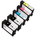 Sophia Global Lexmark 150XL Remanufactured Black, Cyan, Magenta, Yellow Ink Cartridges (Pack o