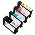 Sophia Global Remanufactured Lexmark 150XL Black, Cyan, Magenta, Yellow Ink Cartridges (Pack of 4)