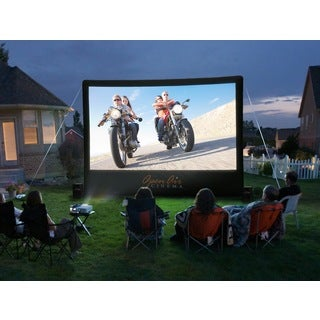 Open Air Cinema 16-foot Outdoor Home Screen Projector