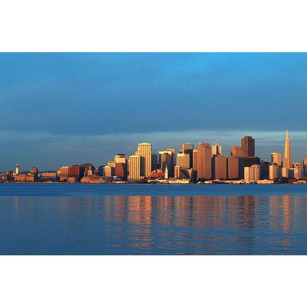 John Foxx 'San Francisco, California Cityscape' Canvas Print