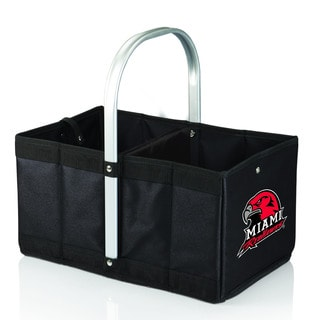 Miami University (Ohio) Redhawks Black Urban Picnic Basket