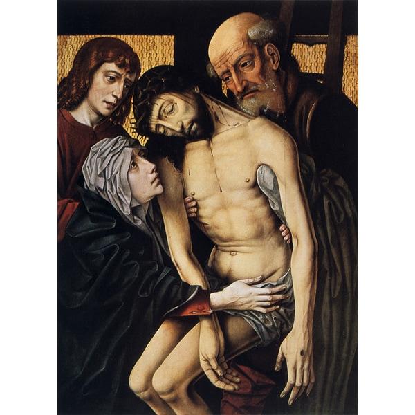 Rogier van der Weyden 'Descent from the Cross' Canvas Print