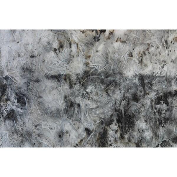 'Textured Glass Fiber Surface' Canvas Art Print