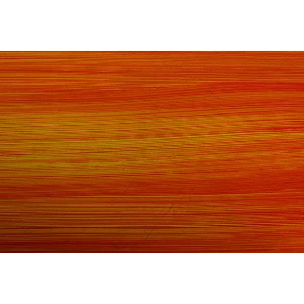 'Brush Stroke Orange Color' Canvas Art Print