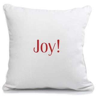 Holiday 'Joy' Accent Pillow