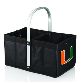 University of Miami Hurricanes Black Urban Picnic Basket