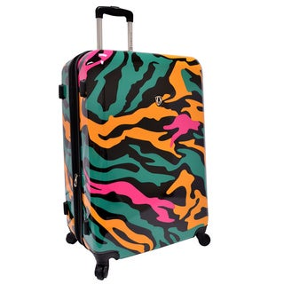 Traveler's Choice Colorful Camouflage 29-inch Hardside Expandable Spinner Suitcase