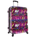 Traveler's Choice Bohemian 29-inch Hardside Expandable Spinner Luggage