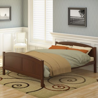 CorLiving Concordia Solid Wood Queen Bed