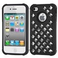 BasAcc Lattice Dazzling TotalDefense case for Apple iPhone 4S/ 4