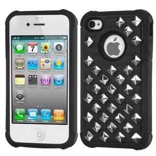 BasAcc Lattice Dazzling TotalDefense case for Apple iPhone 4S/ 4