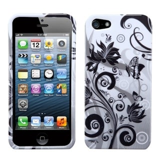 BasAcc Butterfly Monochrome Case for Apple iPhone 5