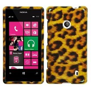 INSTEN Leopard Skin Phone Case Cover for Nokia 521 Lumia