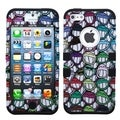 BasAcc All Smiles/ Black TUFF Hybrid Case for Apple iPhone 5