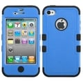 BasAcc Dark Blue/ Black TUFF Hybrid Case for Apple iPhone 4/ 4S