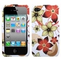 BasAcc Hibiscus Flower Romance Case for Apple iPhone 4/ 4S