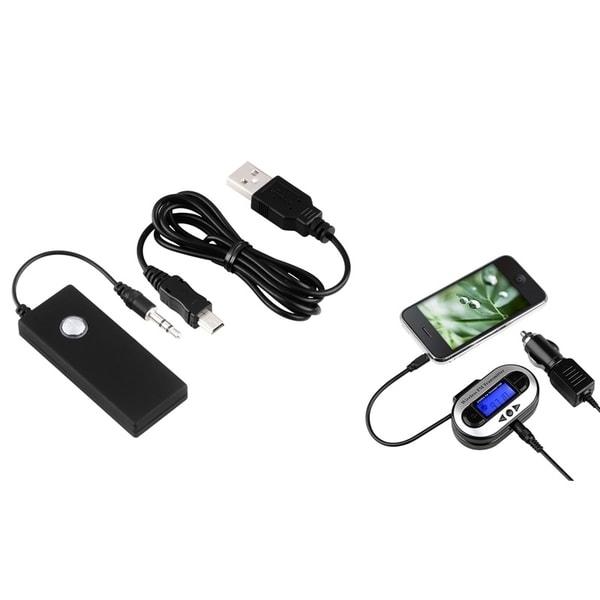 INSTEN Bluetooth Transmitter/ FM Transmitter