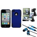 BasAcc Astronoot Case/ Phone Holder/ Headset for Apple iPhone 4/ 4S