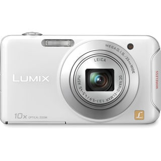 Panasonic Lumix DMC-SZ5 WiFi 14.1MP White Digital Camera