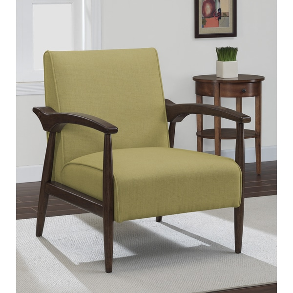 Gracie Retro Lemon Grass Arm Chair