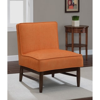 Ella Orange Crush Slipper Chair