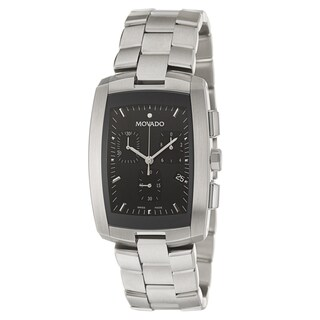 Movado Men's 'Eliro' Stainless Steel Chronograph Watch