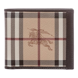 Burberry Haymarket Check Billfold Wallet