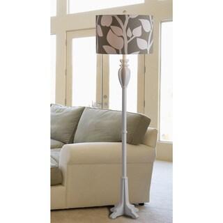 Wayland 1-light White Floor Lamp