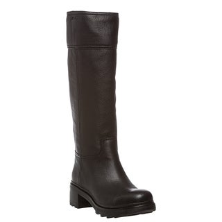 Prada Knee High Leather Boot
