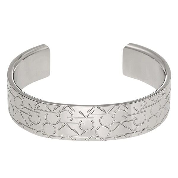 Calvin Klein Jewelry Logo Stainless Steel Bracelet