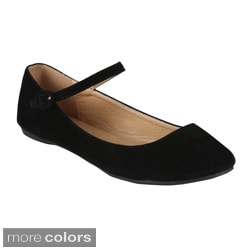 Bonnibel Women's 'Dobie-4' Mary Jane Flats