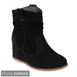Bonnibel Women's 'Dexel-1' Slouchy Ankle Boots
