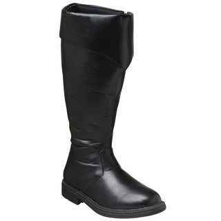 Funtasma Captain-108 Men's Wide Calf Knee High Pirate Boots