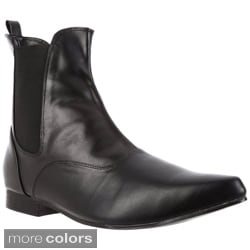 Funtasma Chelsea-58 Men's 1-inch Heel Classic Pointy Toe Winkle-picker Slip-on Beatle Boots