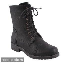 Bonnibel Women's 'Rio-5' Ankle Combat Boots