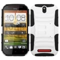 BasAcc White/ Black Armor Stand Case for HTC One SV