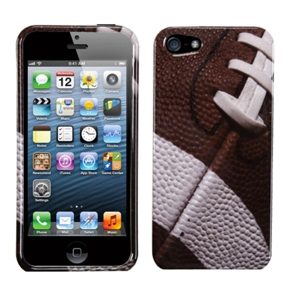 INSTEN Football-Sports Collection Phone Case Cover for Apple iPhone 5