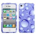 BasAcc Purple Bigger Bubbles Case for Apple iPhone 4/ 4S
