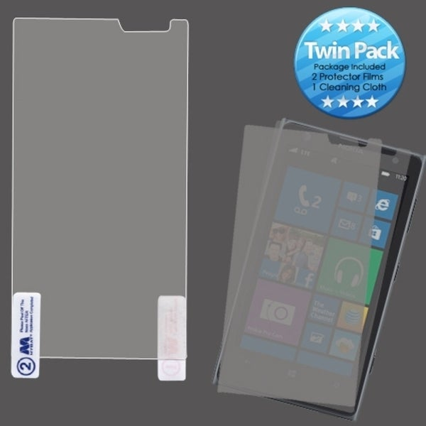 INSTEN Clear Screen Protector Twin Pack for Nokia 1020 Lumia