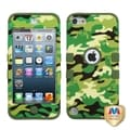 BasAcc Woodland Camo/ Army Green TUFF Case for Apple iPod Touch 5