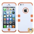 BasAcc Ivory White/ Orange TUFF Case for Apple iPhone 5