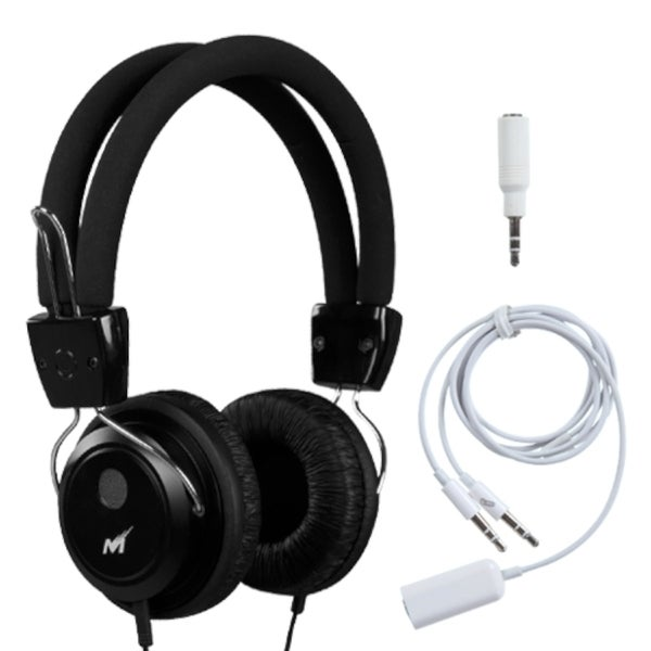INSTEN Black Soundscape Headset