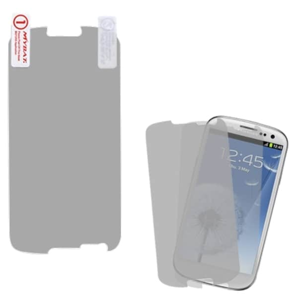 INSTEN Clear Screen Protector for Twin Pack for Samsung Galaxy SIII