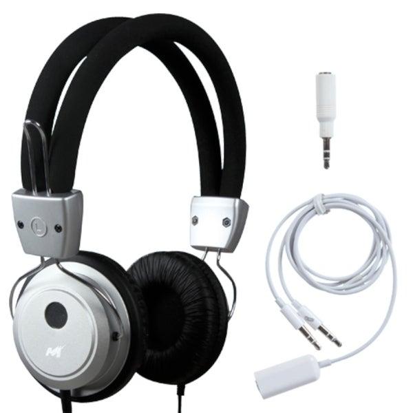 INSTEN Silver Soundscape Headset