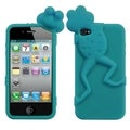 BasAcc Tropical Teal Frog Peeking Pets Case Apple iPhone 4/ 4S