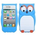 BasAcc Blue Owl Pastel Skin Case for Apple iPhone 4/ 4S