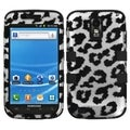 BasAcc Black Leopard/ Black TUFF Case for Samsung Galaxy S2
