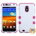 BasAcc Ivory White/ Hot Pink TUFF Case for Samsung Galaxy S2