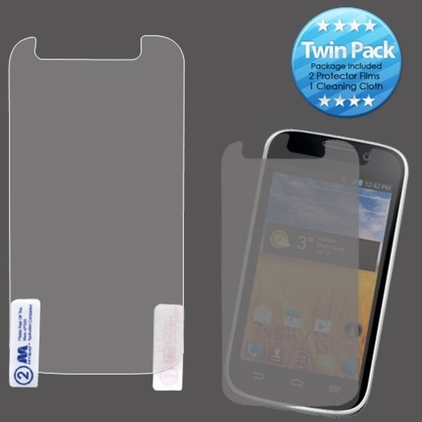 INSTEN Clear Screen Protector Twin Pack for ZTE N9101 Imperial