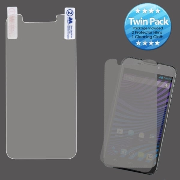 INSTEN Clear Screen Protector Twin Pack for ZTE N9810 Vital